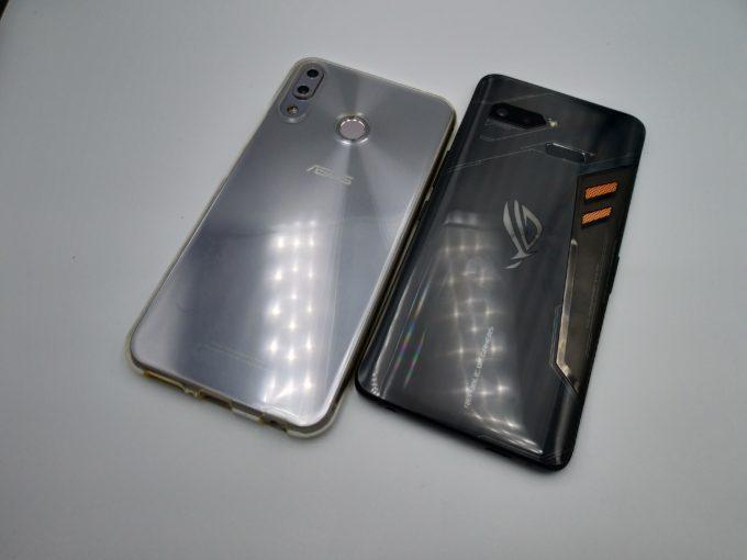 ZenFone 5zとROG Phone