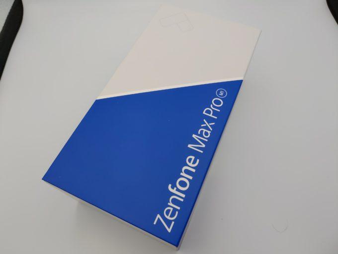 ZenFone Max Pro M1 パッケージ