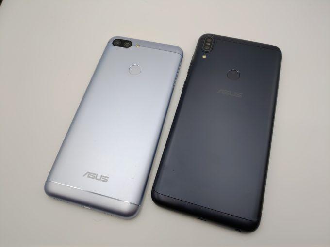 ZenFone Max PlusとPro 端末