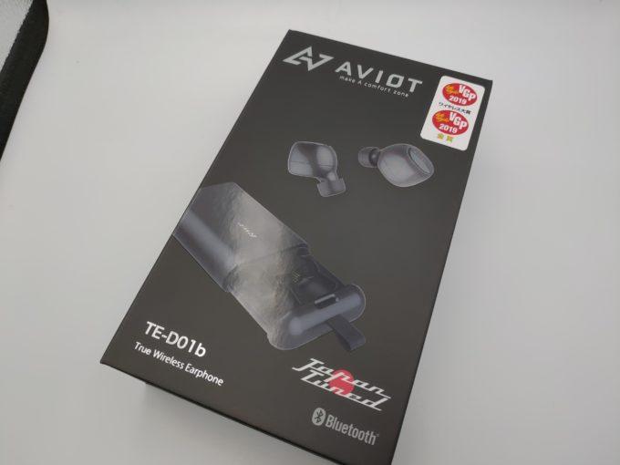 AVIOT TE-D01b 外箱