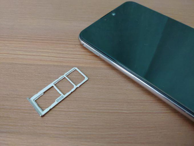 ZenFone Max Pro M2 SIMスロット
