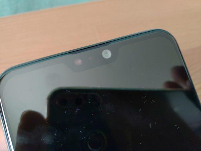 ZenFone Max Pro M2 インカメラ