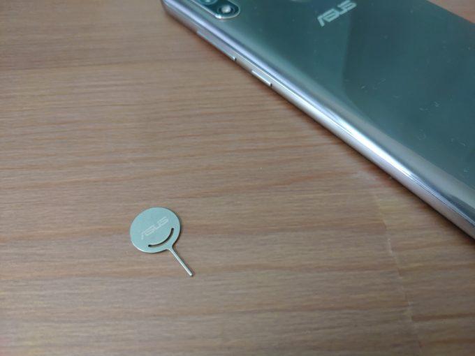 ZenFone Max Pro M2 SIMピン