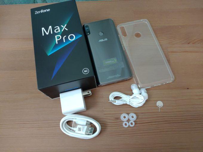 ZenFone Max Pro M2 付属品