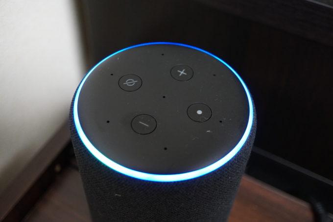 Echo Plusのライトリング