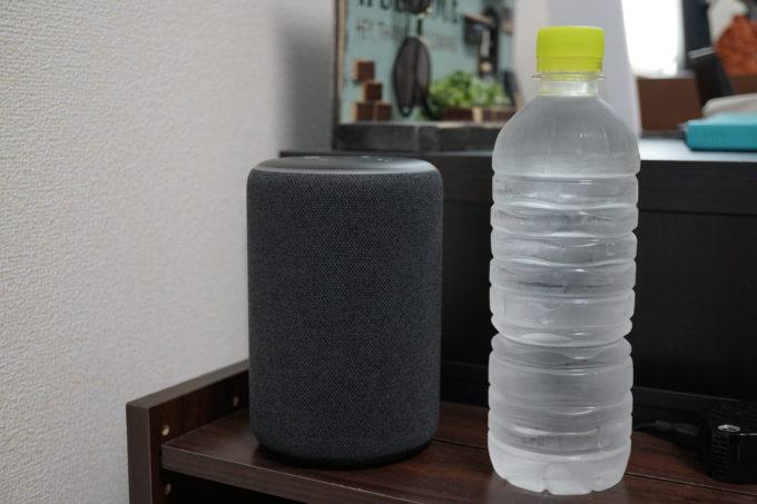 Echo Plusとペットボトル
