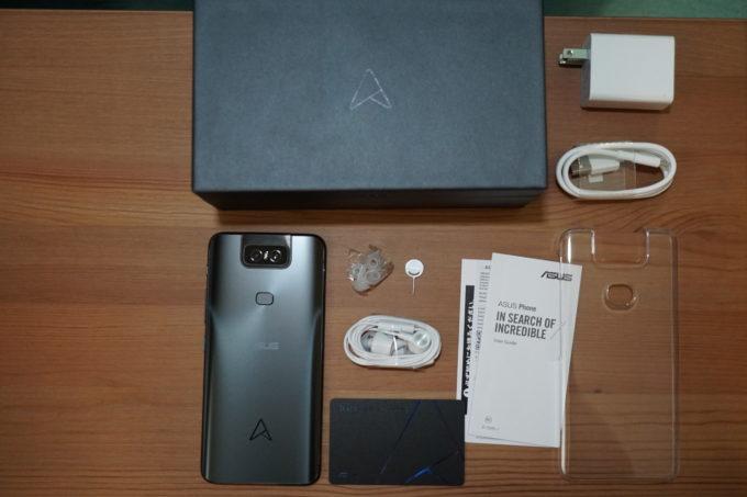 ZenFone 6の付属品