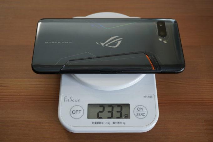 ASUS ROG Phene Ⅱ 重さ