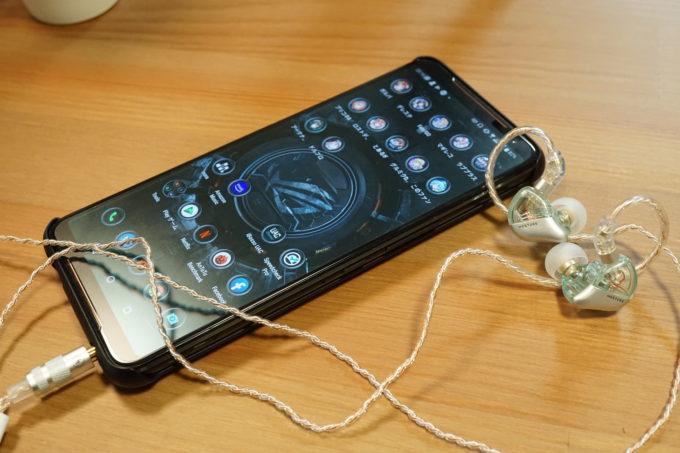 SIMGOT MT3 PROとASUS ROG PhoneⅡ