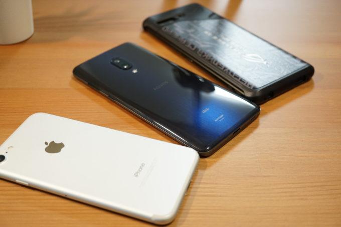スマートフォン 各種端末
