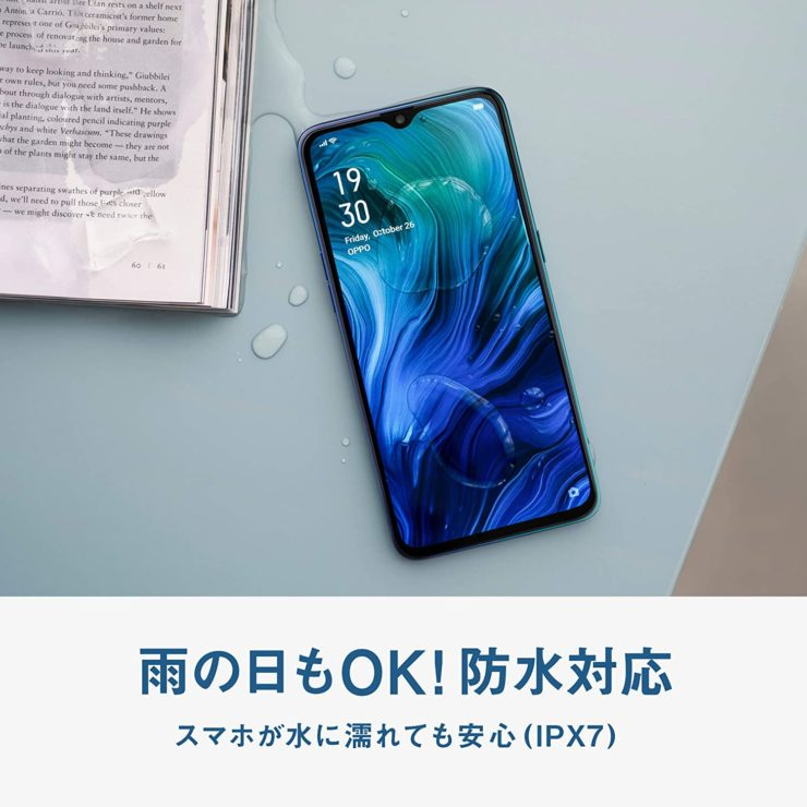 OPPO Reno A 防水防塵
