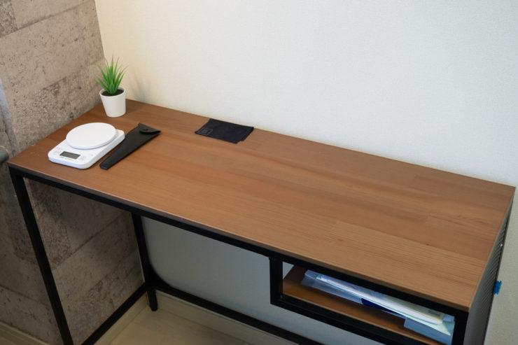 IKEA 木製デスク