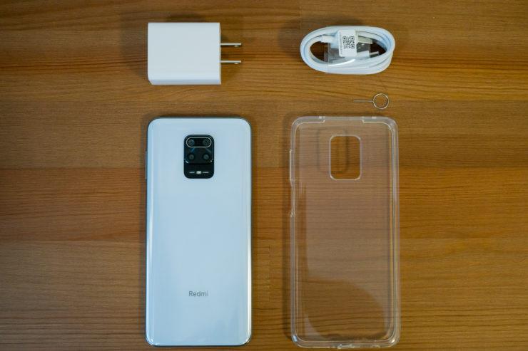Xiaomi Redmi Note 9S 付属品