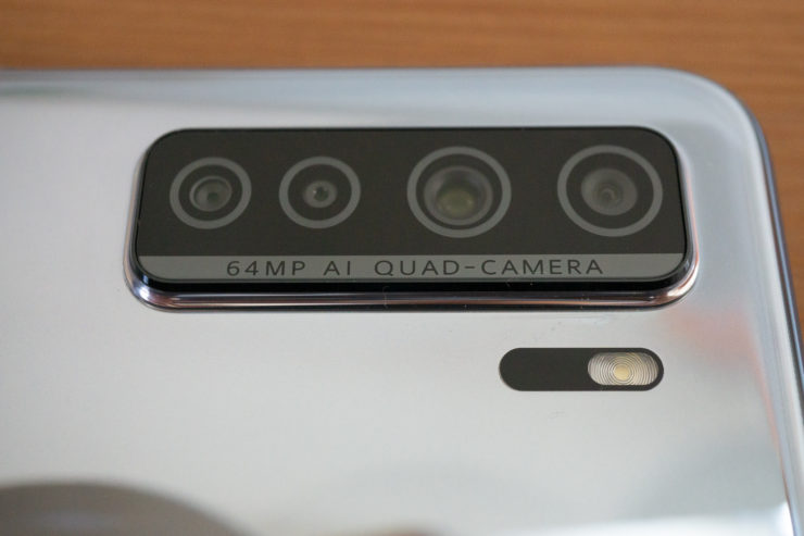 HUAWEI P40 lite 5G カメラ