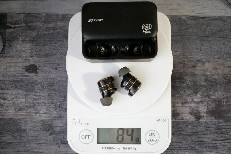 AVIOT TE-BD21j-pnk ケース重さ