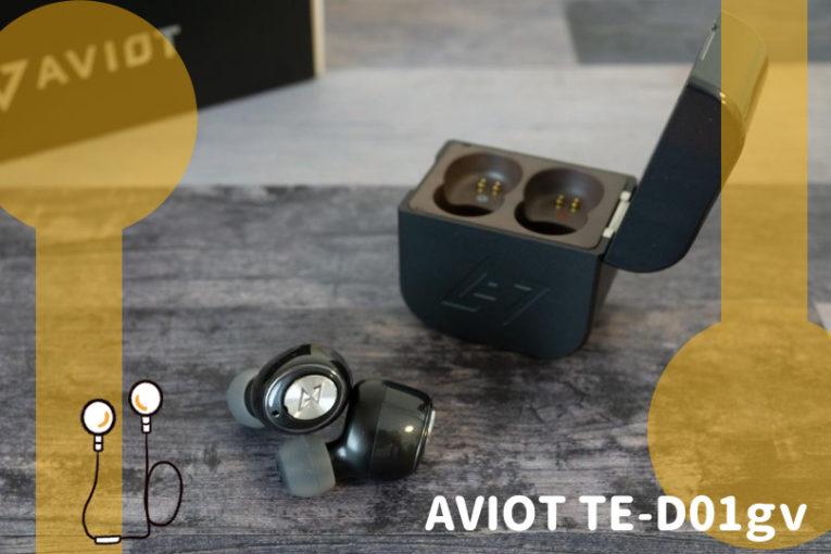 AVIOT TE-D01gv レビュー
