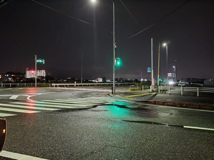 Zenfone 8 夜の撮影2