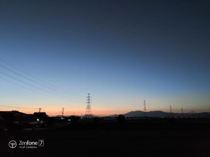 ZenFone 7と鉄塔2