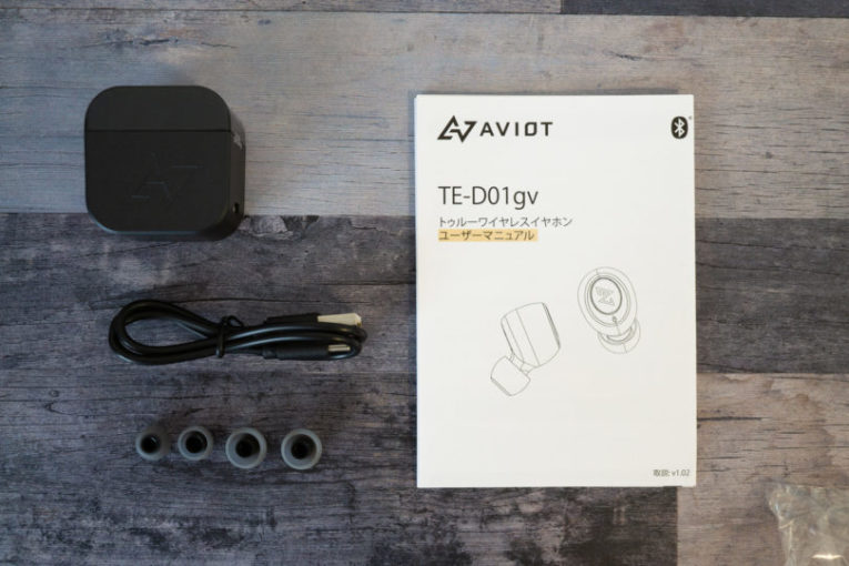 AVIOT TE-D01gv 付属品