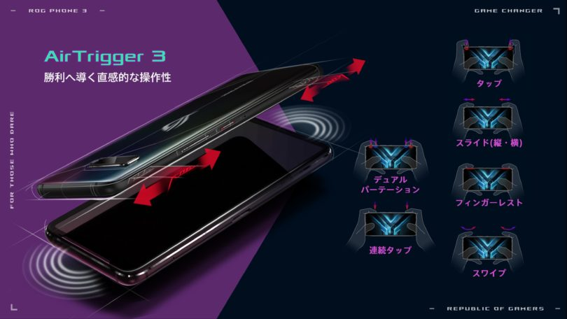 ROG Phone 3 AirTriggers 3