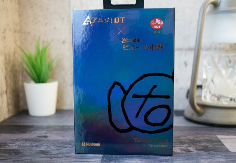 AVIOT TE-BD21j-pnk 外箱
