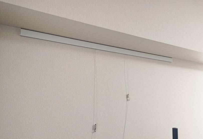 RAIL SUN(レールサン) ワイヤーフック取り付け後