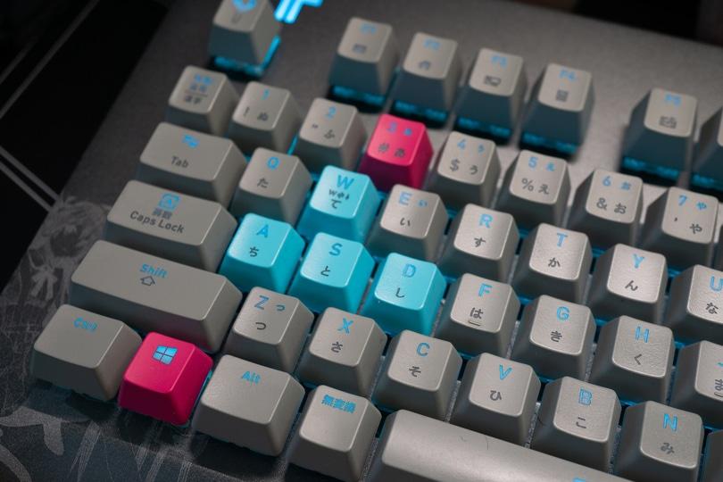 初音ミクキーボード カラー